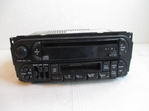2001 Dodge Caravan Radio Wiring Harness