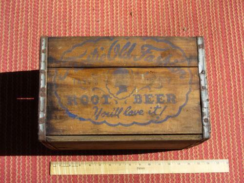 Wooden Soda Cases Ebay