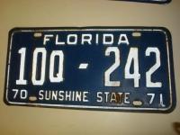 License Plate Florida Antique | eBay