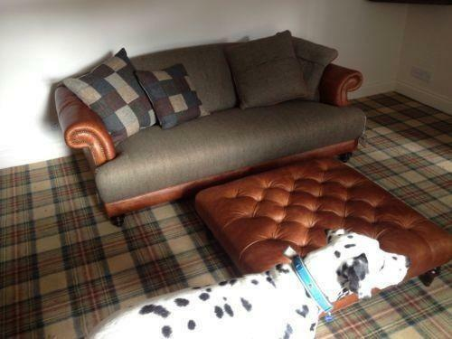 ebay used corner sofa bed 3 seater with chaise lounge tetrad |
