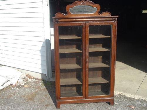 Antique Glass Cabinet Doors Ebay