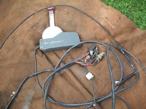 evinrude etec 250 wiring diagram remote start diagrams controls | ebay