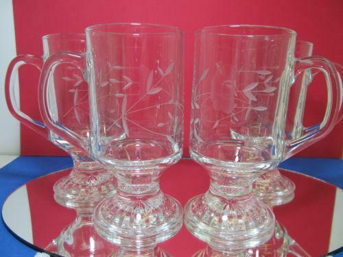 Princess House Crystal Coffee Mugs eBay