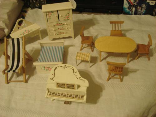 Wooden Doll House Furniture EBay