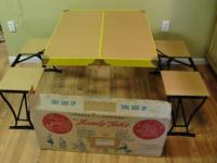Vintage Camping Table | eBay