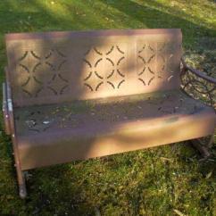 Best Chairs Glider Roman Chair Leg Raise Metal Glider: Patio & Garden Furniture | Ebay