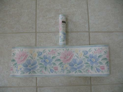 Prepasted Wallpaper Border  eBay