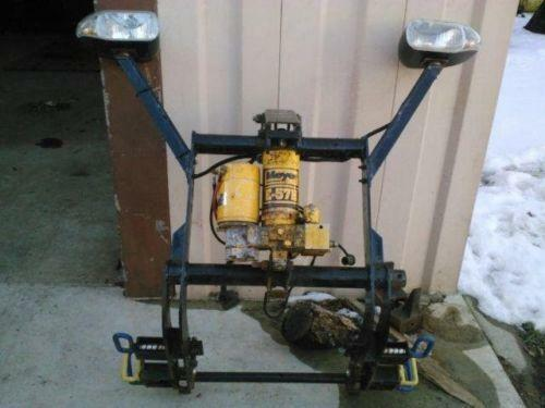 western snow plow wiring diagram ford 2000 honda civic engine used plows | ebay