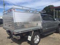 Aluminium Ute Tray/Canopy Combo Unit Suit Hilux Dual Cab ...