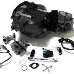 2 Speed Motor Wiring Diagram Porsche 996 Stereo 125cc Engine Ebay