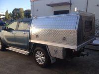 Aluminium Ute Tray and Aluminium Canopy Combo Suit Dual ...