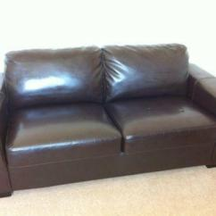 2 Seater Sofa Beds Dfs Tub Argos Leather | Ebay