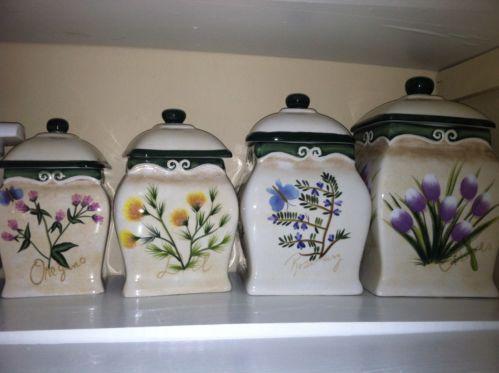 Decorative Kitchen Canisters EBay