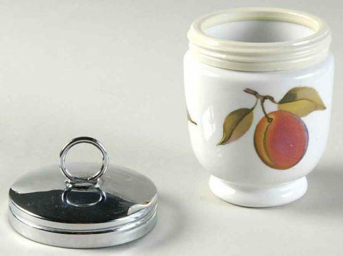 Royal Worcester Egg Coddler Evesham  eBay