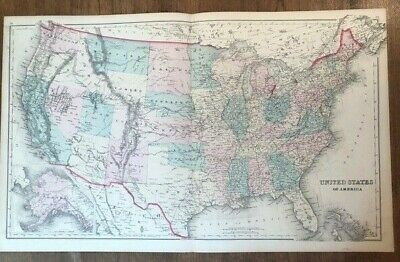 How to read topographic maps. Entire Us Topography Map United States Antique Vatican