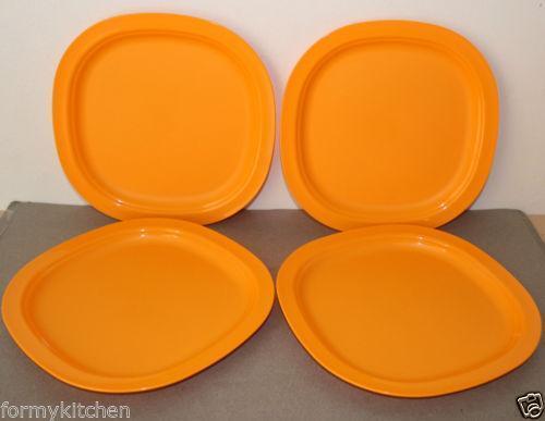 Tupperware Impressions Plates