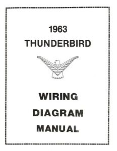 FORD1963ThunderbirdWiringDiagramManual63