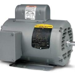 Baldor Motors Wiring Diagram 3 Phase Led Circuit 1/2 Hp Electric Motor | Ebay