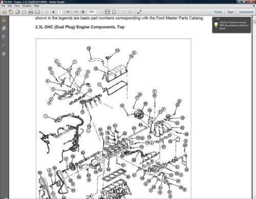 Ford Ranger Repair Manual | eBay