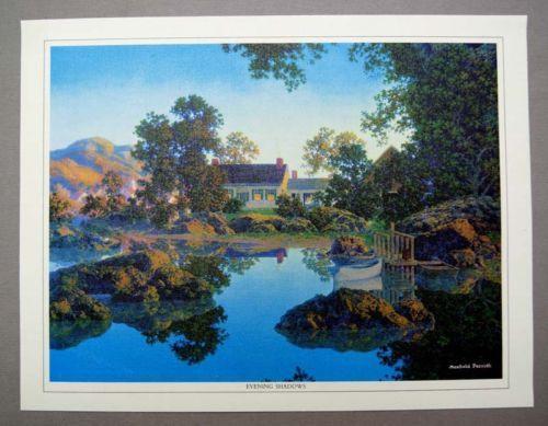Maxfield Parrish Evening Prints EBay