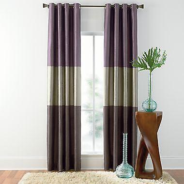 Horizontal Striped Curtains  eBay
