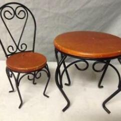 Ice Cream Table And Chairs Thonet Office Chair Ebay Parlor