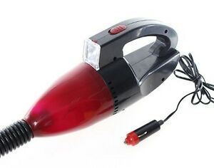 Journey's Edge 3-in-1 Auto Vacuum Cleaner with LED Flash Light and Car Charger