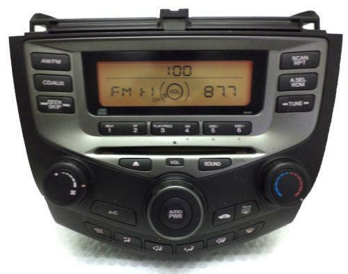 2000 Honda Accord Radio Wiring