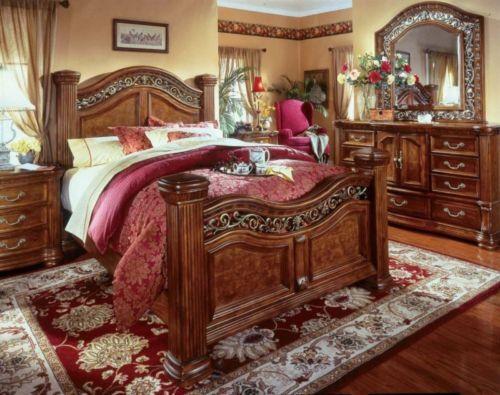 king master bedroom furniture sets King Bedroom Set | eBay