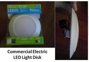 4 Pack Commercial Electric 6 in LED Disk Light T91  eBay