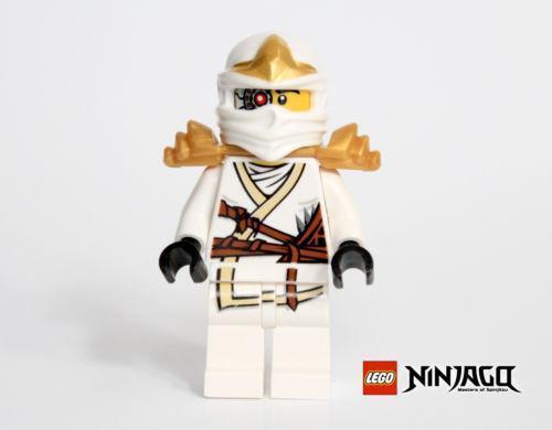 Lego Minifigure Ninjago Pixal 2 Sided Head And Techno Zane Free