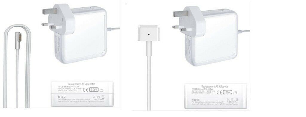 Charger magsafe 1 & 2 power adapter for apple Mac Macbook