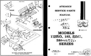 CESSNA 182 Skylane PERIOD PARTS SERVICE MANUAL detailed