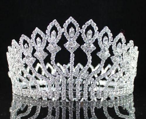 Full Pageant Crown Tiaras Amp Headbands EBay