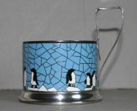 Silver Tea Glass Holder   eBay