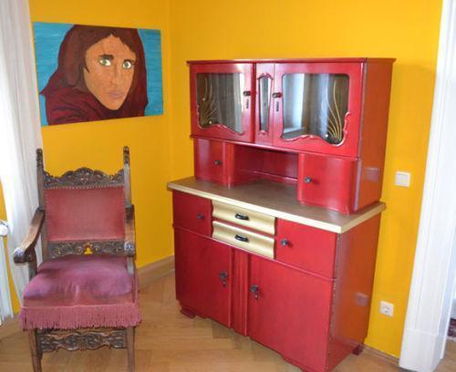 50ER Jahre Küchenschrank eBay