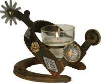 Cast Iron Candle Holder   eBay