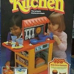 Play Kitchen Ikea Bridge Faucets Vintage A La Carte From Bluebird Toys 1980s | In ...