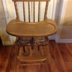 Eddie Bauer Wood High Chair Swivel For Hunting   Buy Or Sell Feeding & Chairs In Ontario Kijiji Classifieds