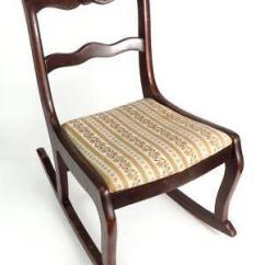 Antique Wooden Rocking Chairs Kohls Game Chair Ebay