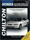 1996-2000 Honda Accord Prelude Chilton Repair Service WorkShop Manual Book