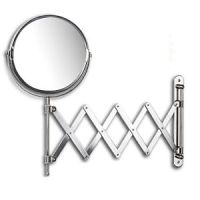 Arm Extension Wall Mount Mirror Chrom Bathroom Mirror