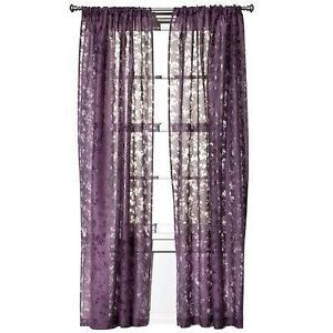 Plum Curtains EBay