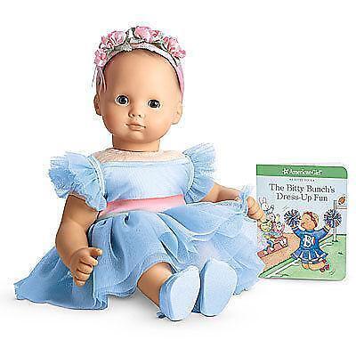 baby boy doll high chair beauty salon chairs images american girl bitty dress | ebay