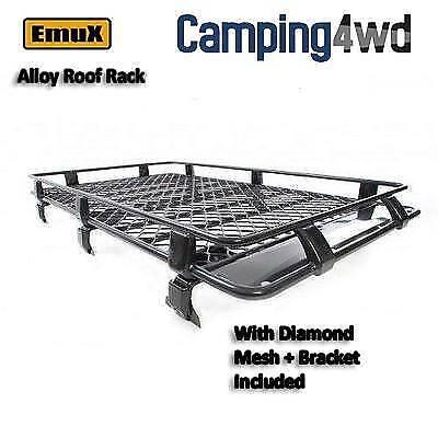 NEW Alloy Roof Rack Gutter Mounted Diamond Mesh floor $500