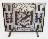 Art Deco Fireplace Screen   eBay