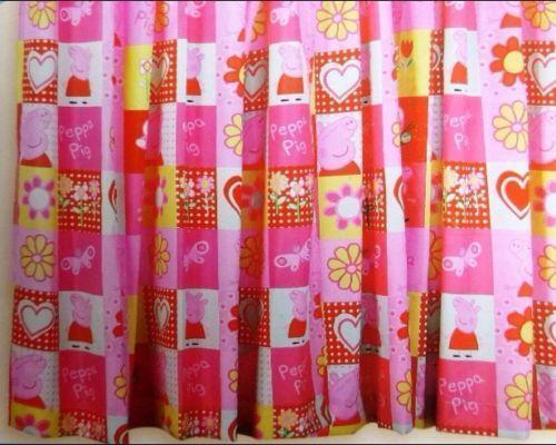 Peppa Pig Curtains  eBay