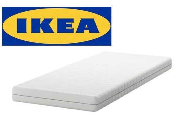 Brand New Ikea Sultan Florvag Single Mattress Still In Packaging Use With Hemnes