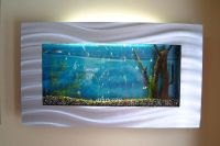 slimline wall mounted fish tank | in Quinton, West ...