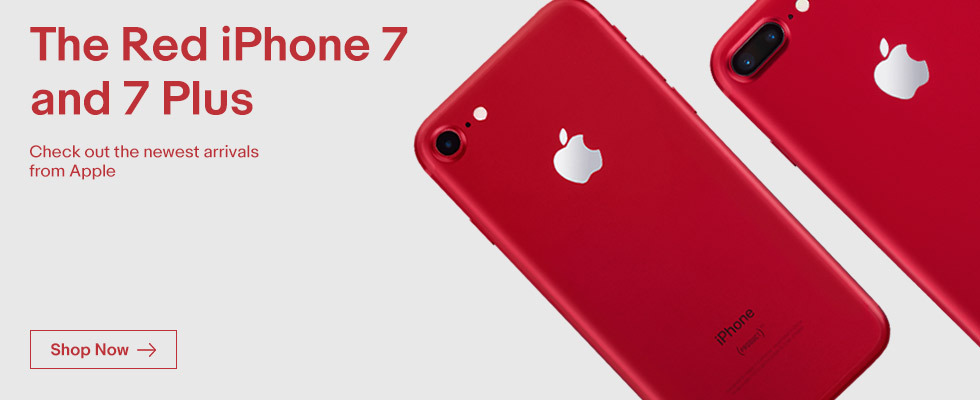 The Red iPhone 7 is Here! | Shop Now
